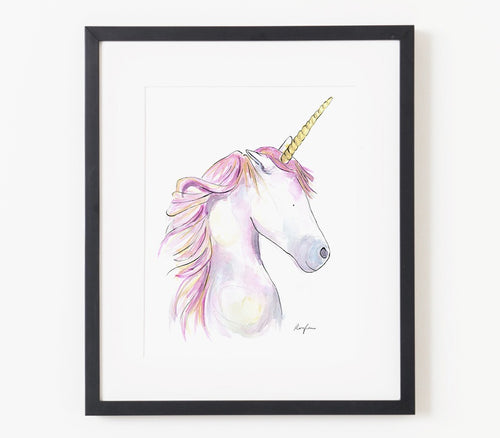 Joy the Unicorn A4