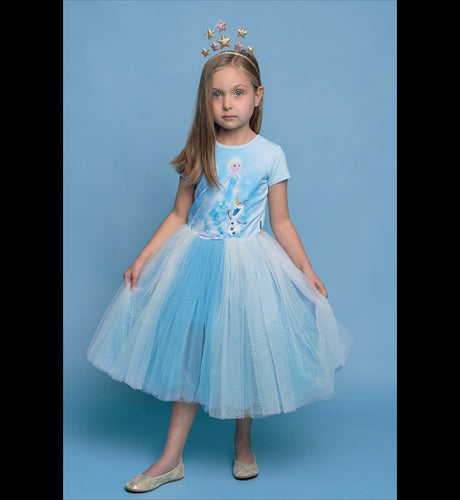 Rock your kid Elsa Flounce Dress