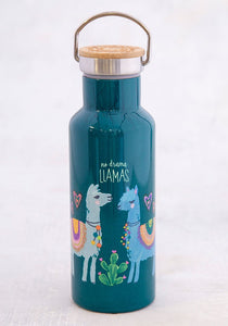 Traveler Bottle No Drama LLamas