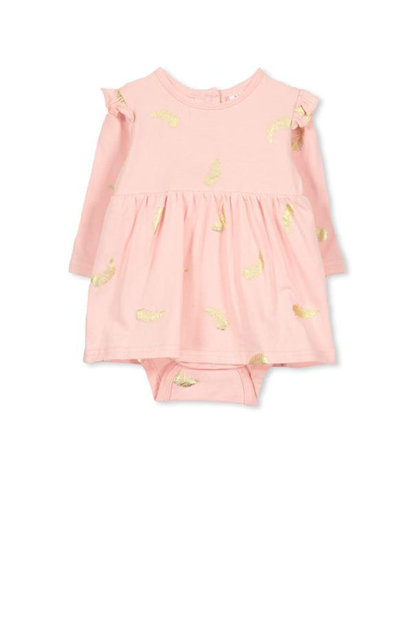 Feather Baby Dress