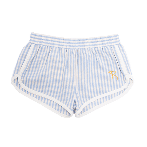 Blue Stripe Charlie Jogger Short