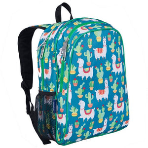 Wildkin Llamas and Cactus 15 Inch Backpack