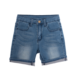 Blue Wash Loyalty Denim Shorts