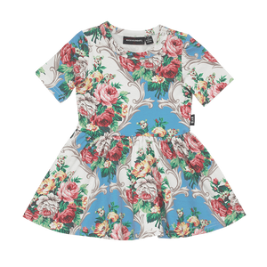 French Chintz Waisted Baby Dress