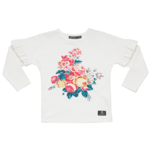 Antique Chintz LS T Shirt