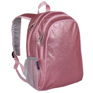 Pink Glitter Backpack 15 Inch