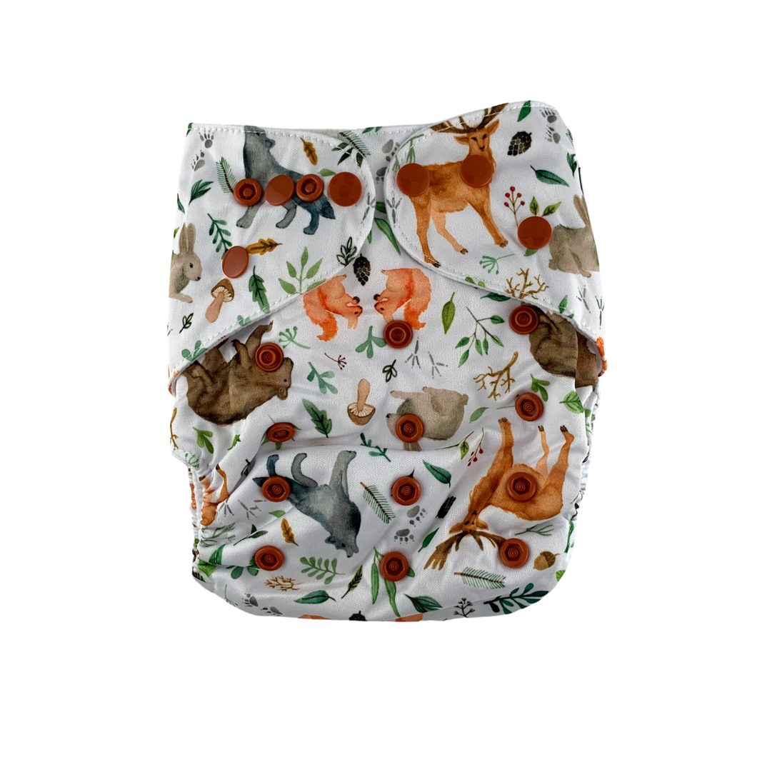 Into the woods Reusable cloth Nappy