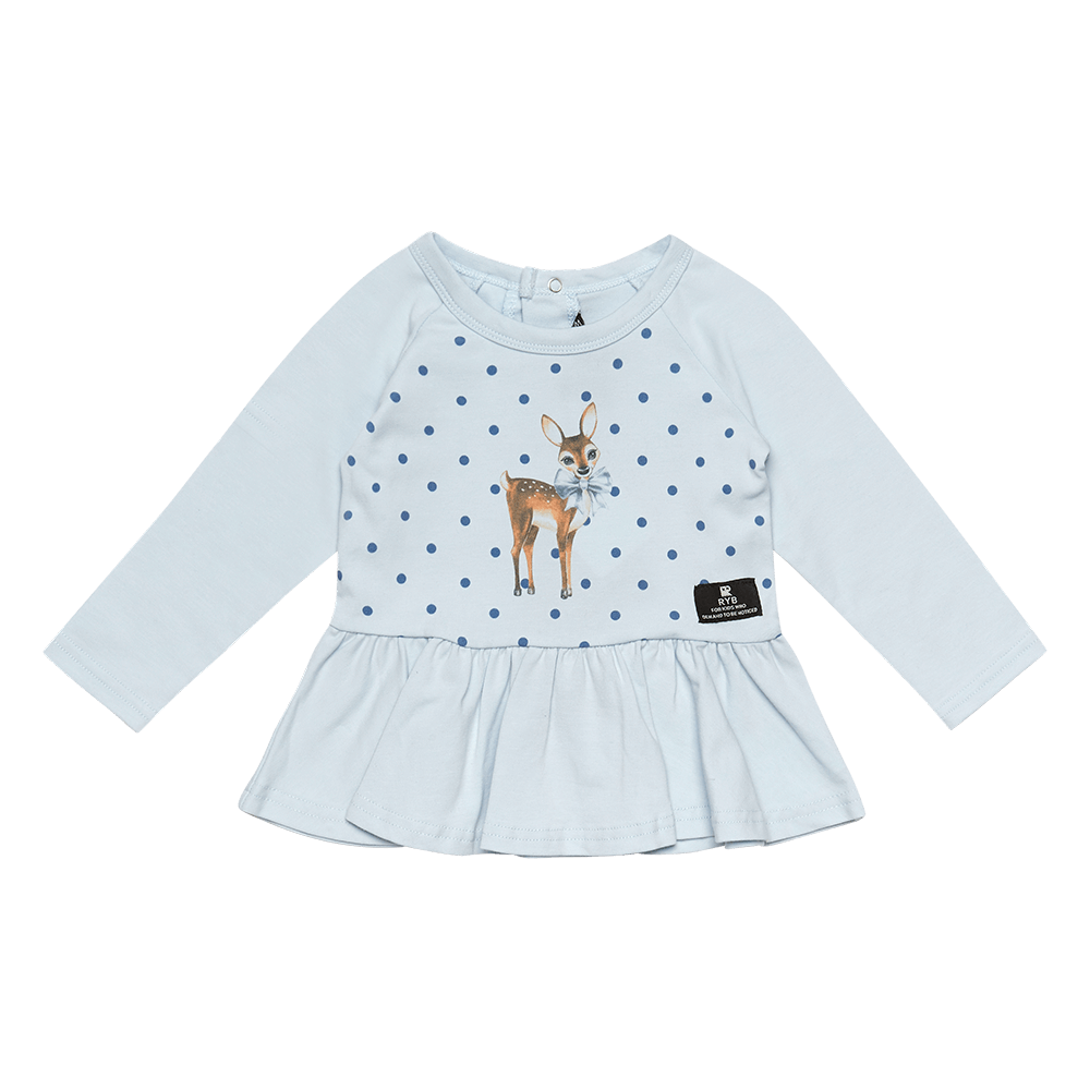 Deer Heart LS Top