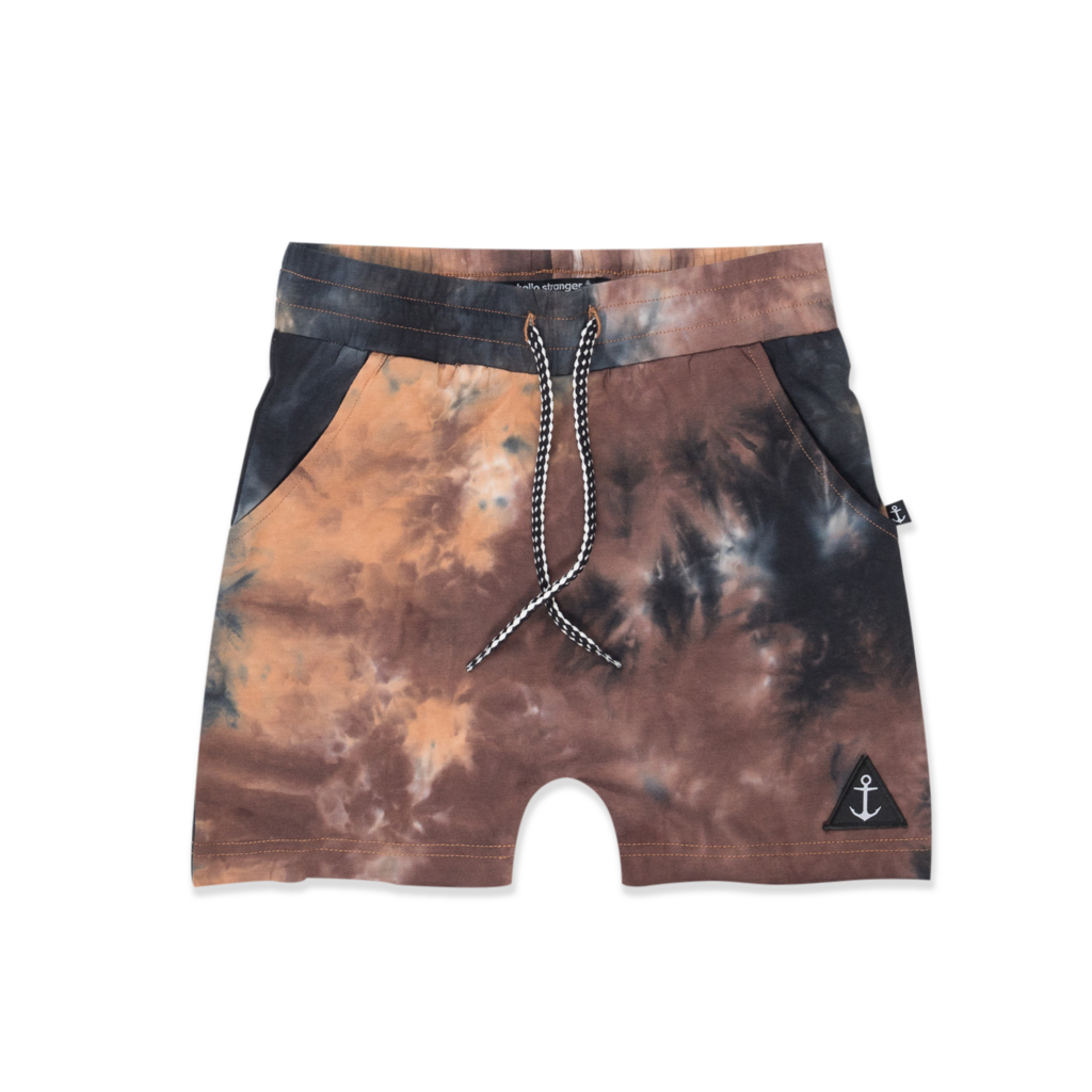 Tankie Short Washed Brown