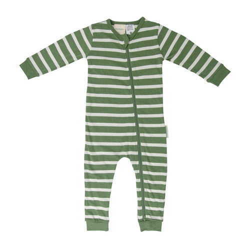 Merino / Organic Cotton Fern Sleepsuit
