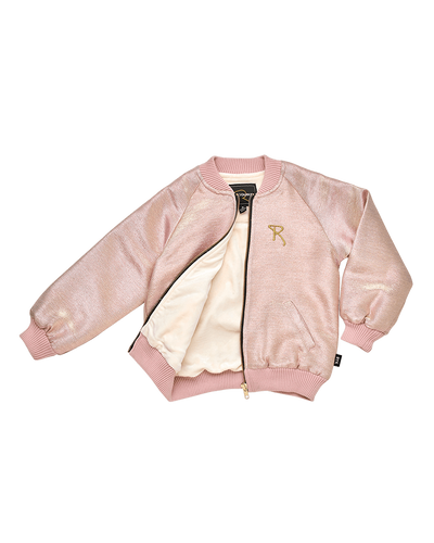 Shimmer Jacket Light Gold