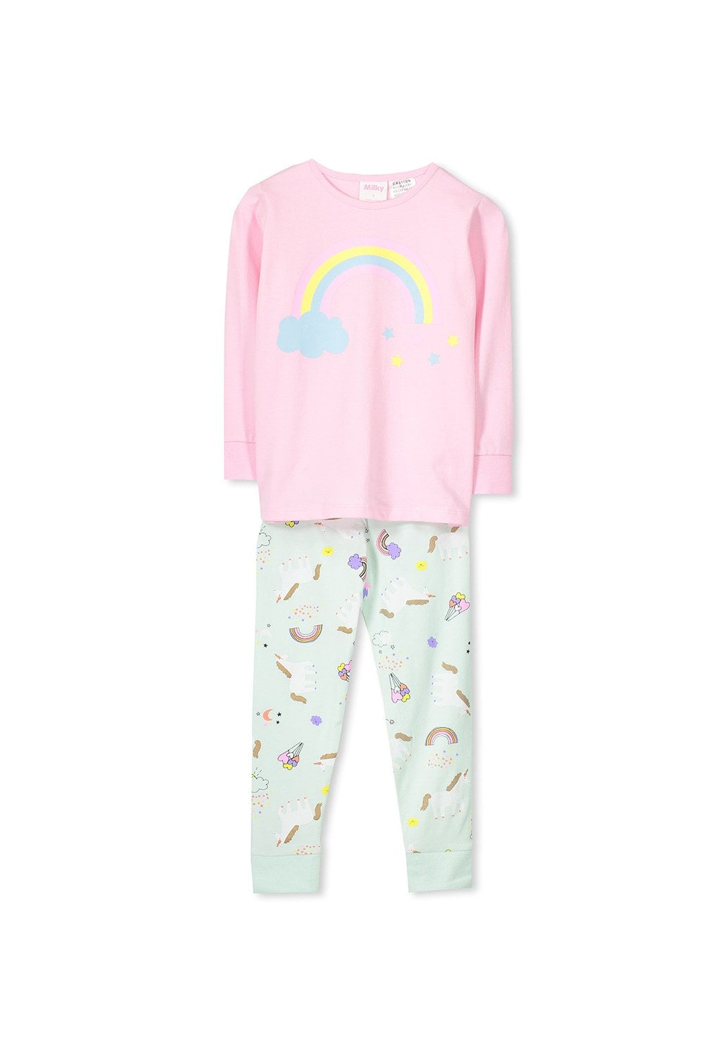 fairy floss unicorn pj's