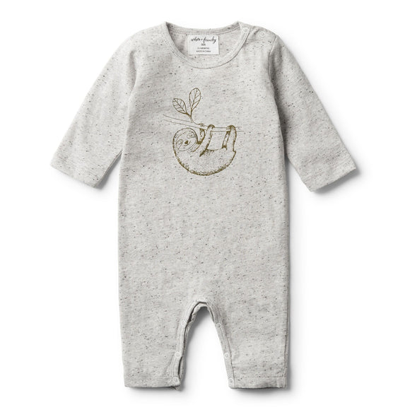 Mr Sloth Melange LS Growsuit