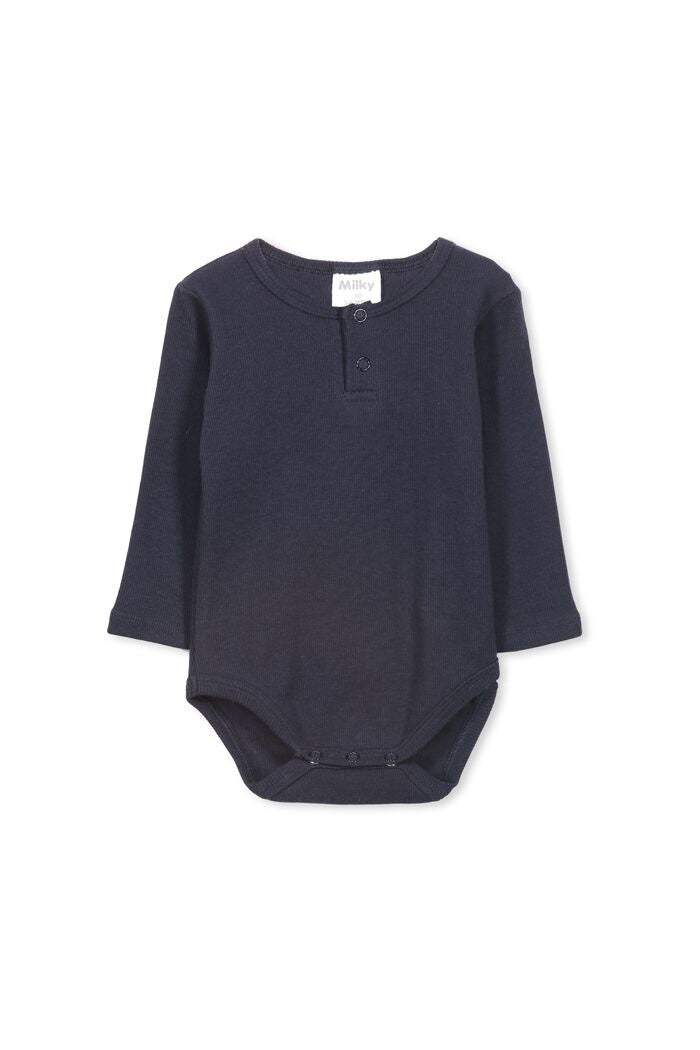 Rib Bubbysuit Navy