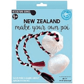 New Zealand Poi Earrings Make your own
