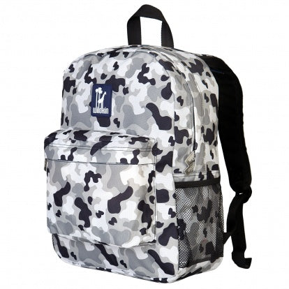 Wildkin Grey Camo 16 Inch Backpack