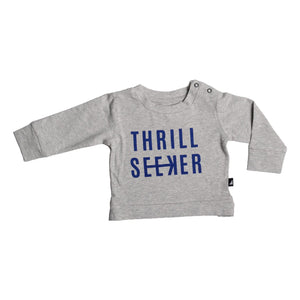 Thrill Seaker Grey Marle Sweater