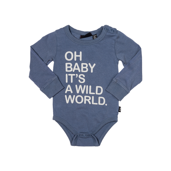 Oh Baby It's a wild world Bodysuit
