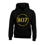 Hoodie - Circled 807 Empire design