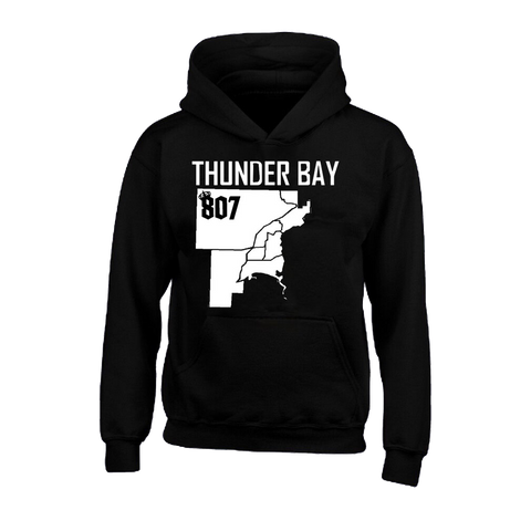 Hoodie - District of Thunder Bay Map