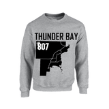 Sweater - Districts of Thunder Bay Map