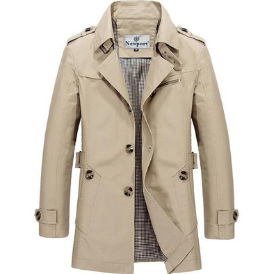 Horatio Nelson Nautical Trench Coat