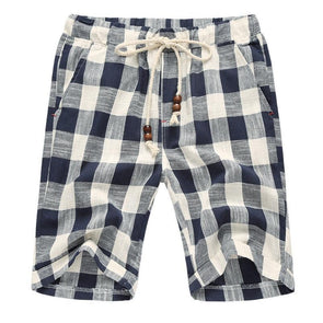 Light Plaid Voyager Shorts
