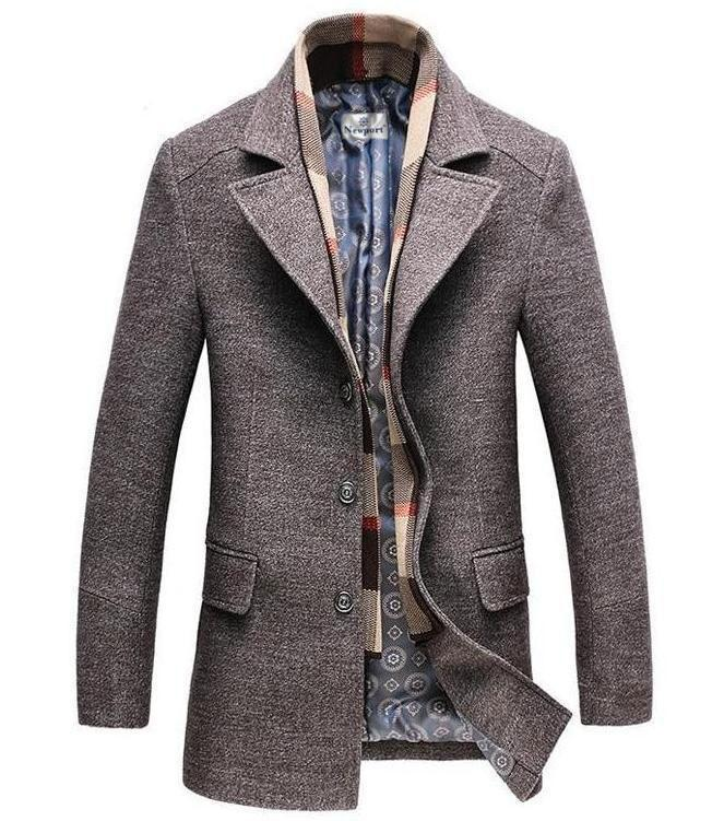 limited style highly praised the best attitude Calico Wool Trench Coat -