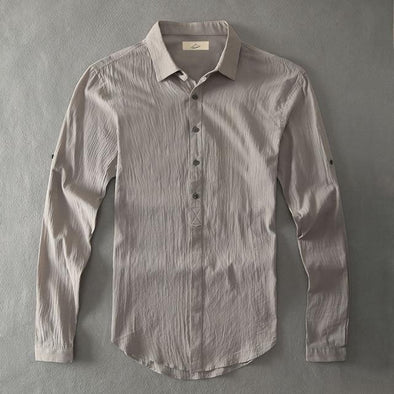 Ash Armada Linen Collared Shirt