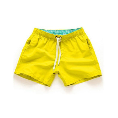 Yellow Nautical Canvas Bottoms