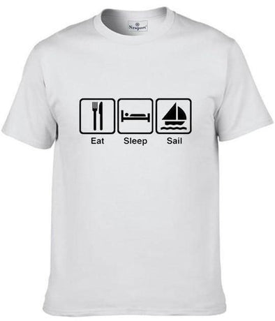 Eat Sleep Sail Graphic T-Shirt