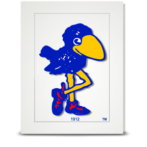 Jayhawk 1912 - folded card