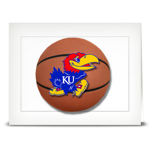 KU Jayhawk, Basketball – folded card