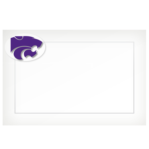KSU Power Cat – flat cards (box of 10)