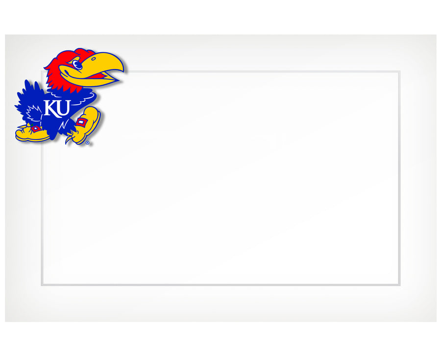 KU Jayhawk – flat cards (box of 10)