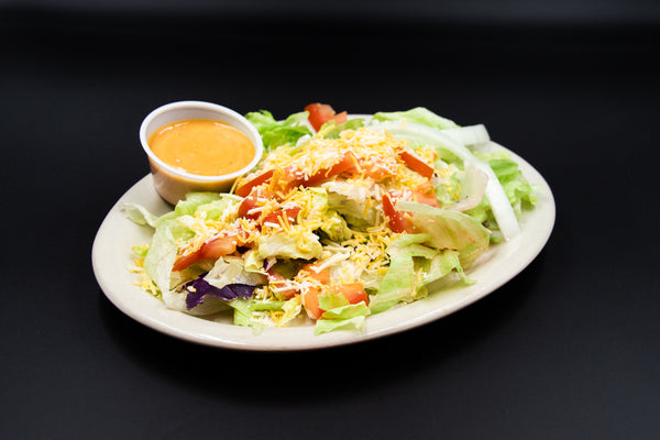 Salad at Yak's Cafe, Yak's Cafe, Blanding UT, places to eat in Blanding, lunch in Blanding, San Juan County