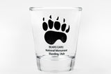Bears Ears Nation Monument shot glass, shot glass, Blanding UT shot glass