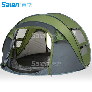 Instant Pop Up Tent 3-Person Family Camping Tent.