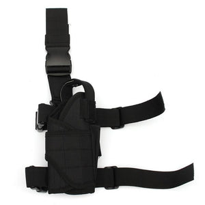 Wrap-around Leg Outdoor Tactical Gun Holster.