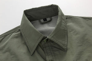 Mountainskin Quick Dry Outdoor Men's Summer Breathable Shirts.
