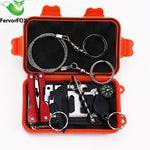 1 Set Outdoor Emergency Equipment SOS Kit.