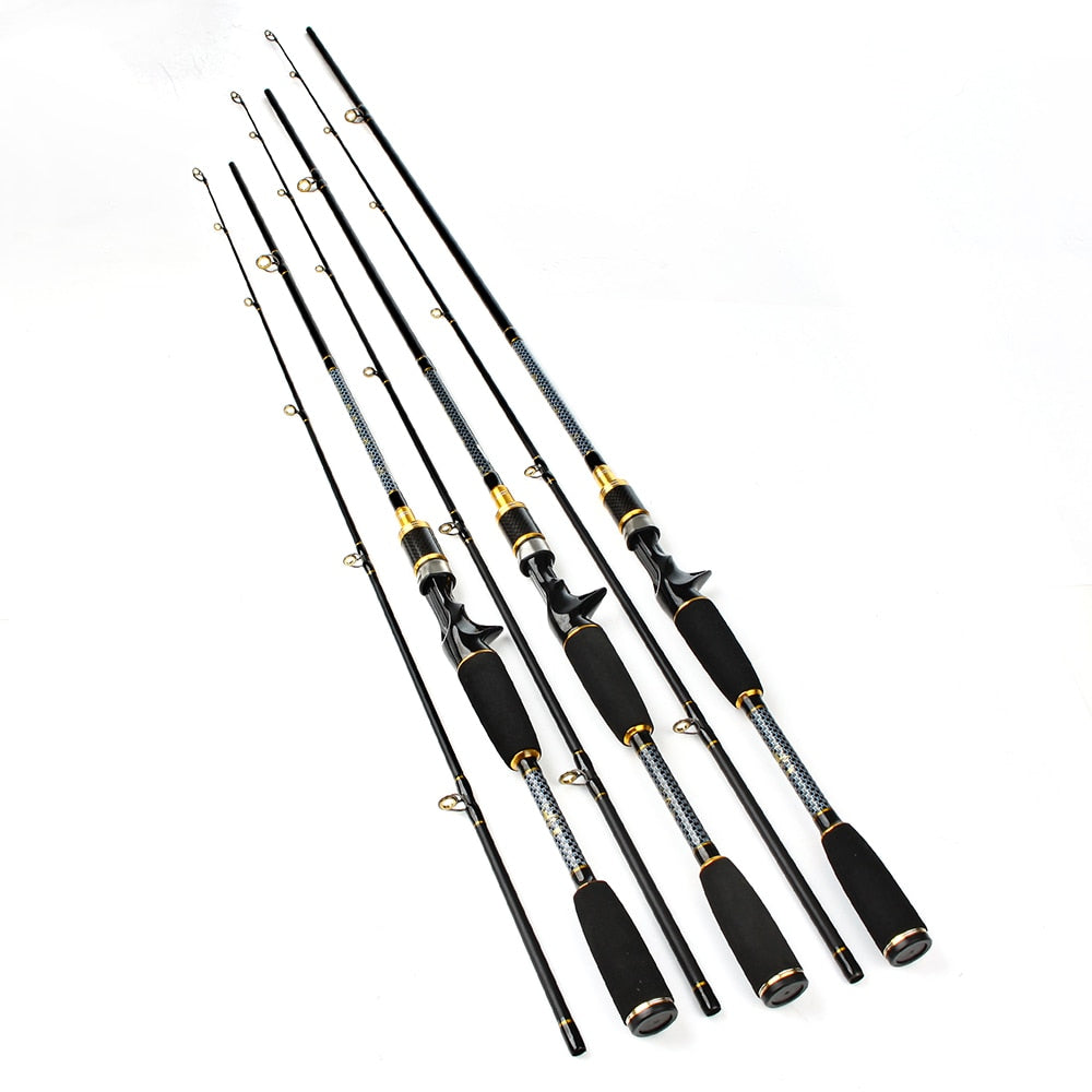 FISHKING Carbon 2 Section C.W 10-30G Soft Lure Fishing Rod.
