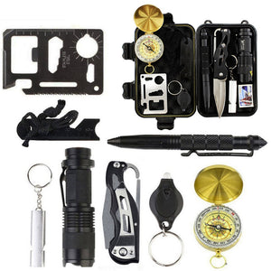 Outdoor SOS Survival Tactical  Tool Box Kit,