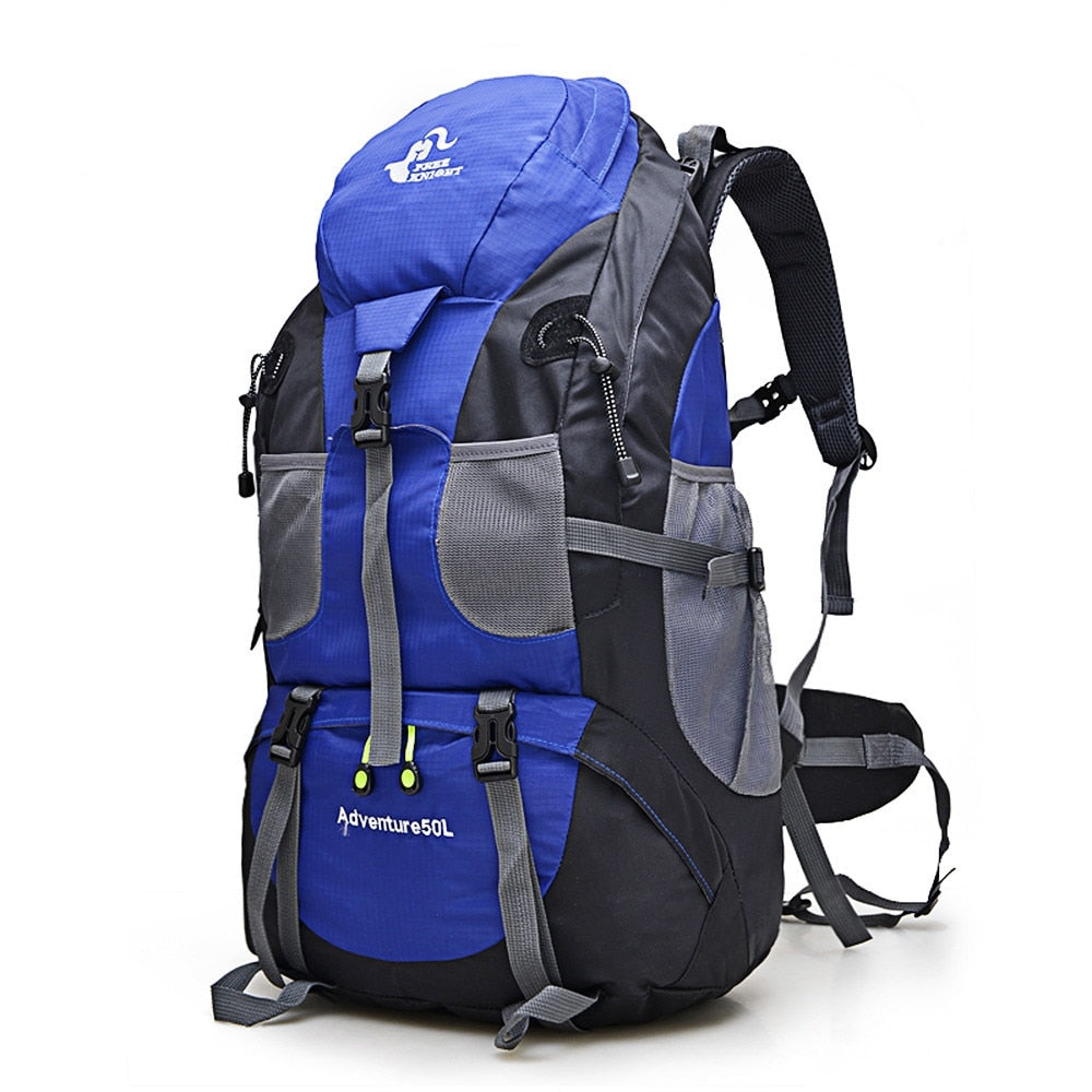 Hot Sale 50L Outdoor  Waterproof Mountaineering Hiking Backpack.
