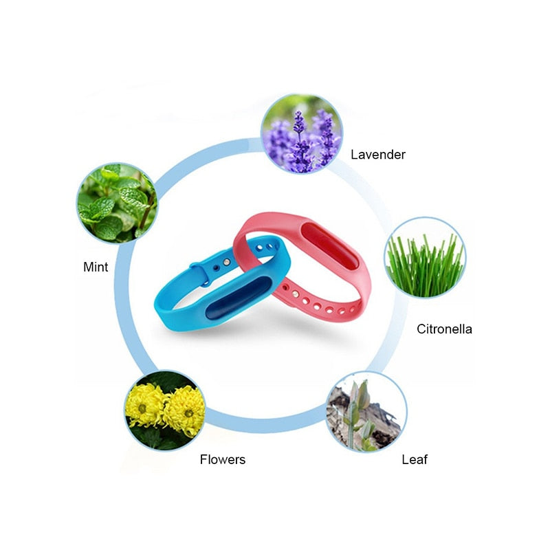 5pcs Anti Mosquito Repellent  Bracelets.