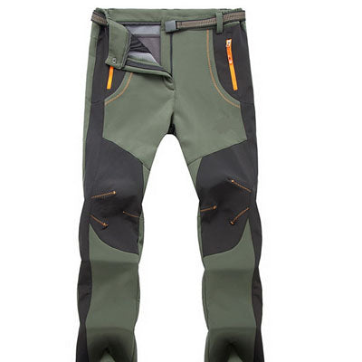 Winter Hiking Pants Outdoor Softshell Trousers.