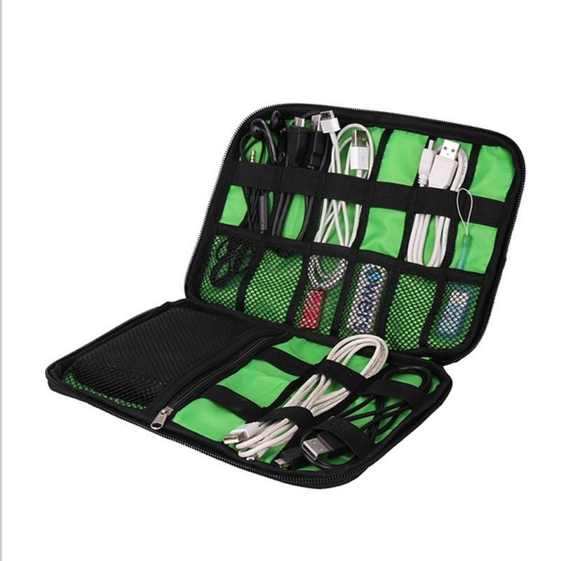 Outdoor Travel USB Drive Storage Case.