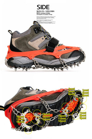 Quality Outdoor Climbing Antiskid Crampons.