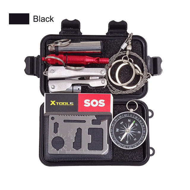 6 in 1 Multi Survival Tool Kits