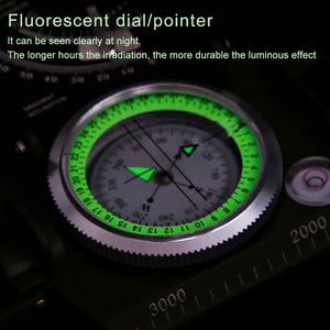 Multifunctional Compass Military Grade Waterproof